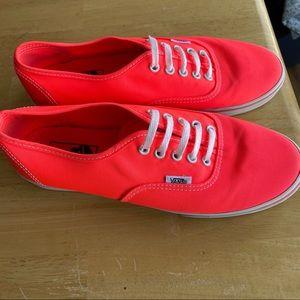 Vans Neon lace up shoes low pro